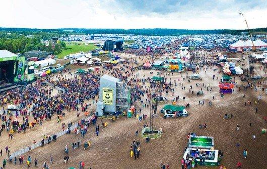Hurricane und Southside 2012: Live-Stream von den Partner-Festivals mit Blink-182, Ärzte, Casper, The Cure?