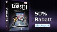 Roxio Toast Titanium 11 für ca. 40 Euro bei Stacksocial