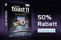 Roxio Toast Titanium 11 für ca. 40 Euro bei Stacksocial</b>