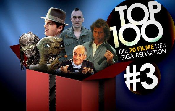 Top 100 - die 20 Filme der GIGA-Redaktion - Teil 3