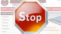 Shop-Betrüger werben mit GIGA: Warnung!