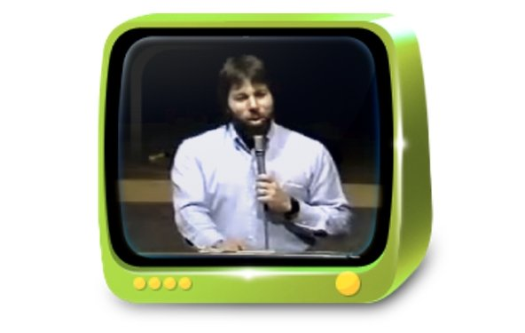Steve Wozniak: Video von 1984