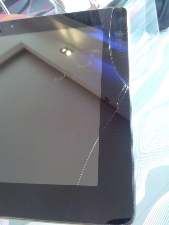ASUS Transformer Prime: Produktionsfehler am Displayrand?