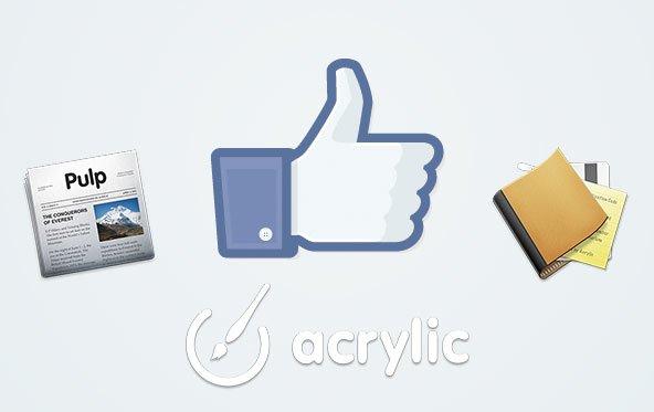 Pulp und Wallet: Facebook übernimmt Acrylic