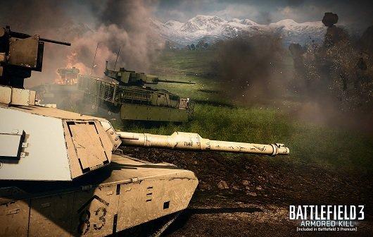 Battlefield 3 - Armored Kill: Das übliche Chaos im Launch-Trailer