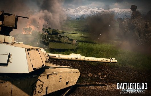 Battlefield 3 - Armored Kill: Das übliche Chaos im Launch-Trailer