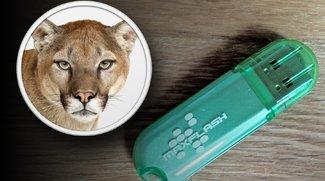 OS X 10.8 Mountain Lion: Bootfähigen USB-Stick erstellen - Anleitung