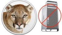 OS X Mountain Lion: Kein Update für alte Intel-Macs