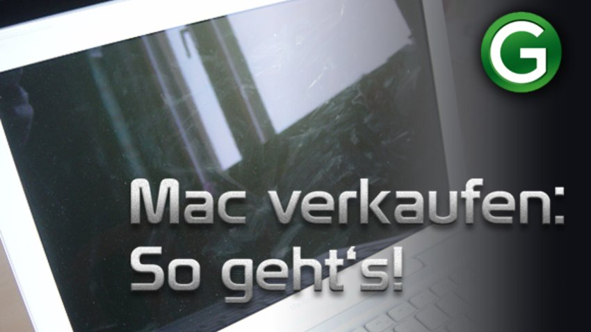 Macbook Für Verkauf Vorbereiten