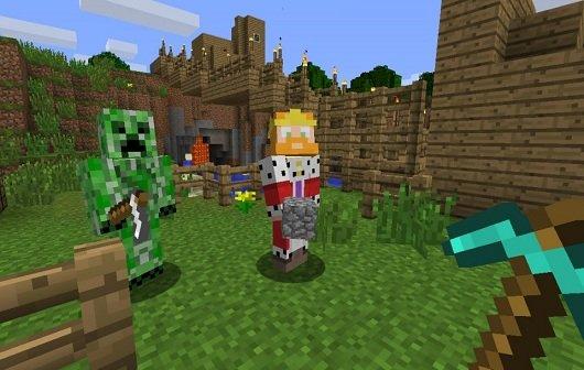 Minecraft - Xbox 360 Edition: Erstes Skin-Pack veröffentlicht