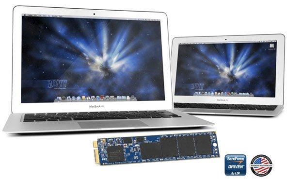 OWC Mercury Aura Pro: SSD-Upgrades für neues MacBook Air verfügbar