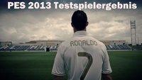 Pro Evolution Soccer 2013 Testspielergebnis: Unentschieden