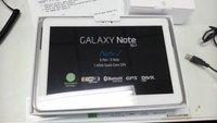 Galaxy Note 10.1 mit Quad-Core Prozessor und 2 GB RAM