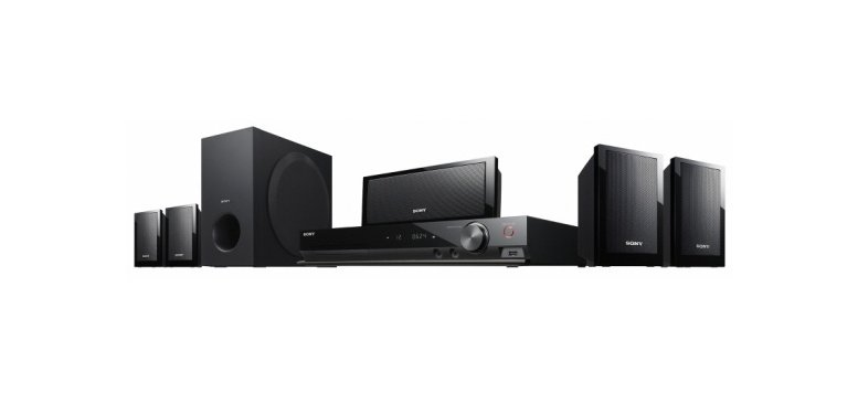 Sony DVD-Heimkinosystem DAV-DZ340 5.1 für 149 Euro bei Amazon