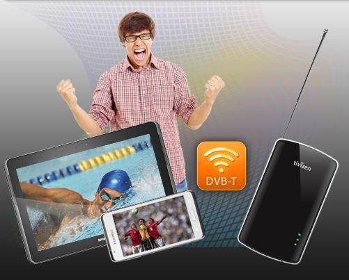 Tivizen DVB-T WiFi Box für Android im Test