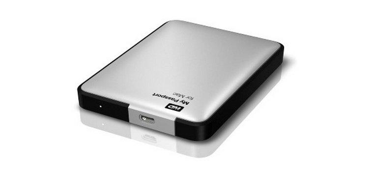 Western Digital My Passport 500 GB speziell für Mac für 84,99 Euro