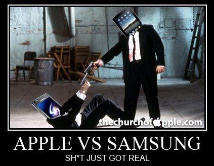 Apple vs Samsung, es geht weiter