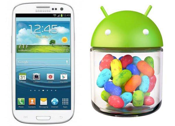 Samsung Galaxy S3: Update auf Android 4.1 im August/September