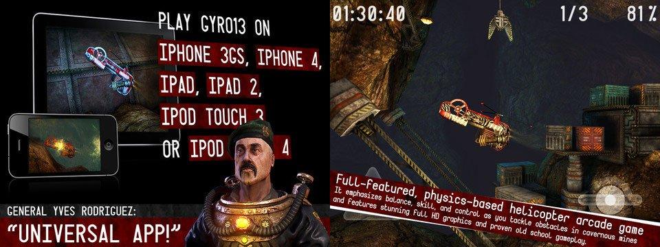 Gyro13 - Steam Copter Arcade HD