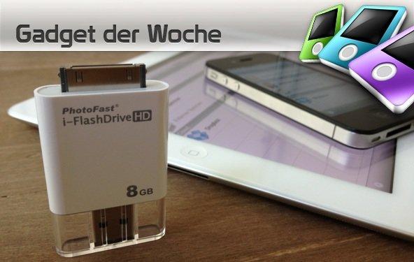 i-FlashDrive HD: Neuer USB-Stick für iPhone und iPad im Test