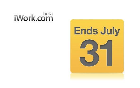 iWork.com: Apple erinnert an Abschaltung am 31. Juli 2012