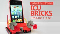 iCU Bricks: Ein iPhone-Case, für das man seine LEGO-Schachteln entstaubt