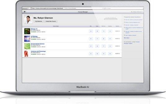 iTunes U: Erstellen von Kursen jetzt für jeden möglich
