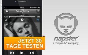 Napster-App – kostenlose Testphase für GIGA-Leser