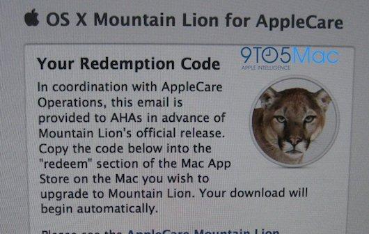 OS X Mountain Lion: AppleCare-Mitarbeiter aktualisieren ihre Macs