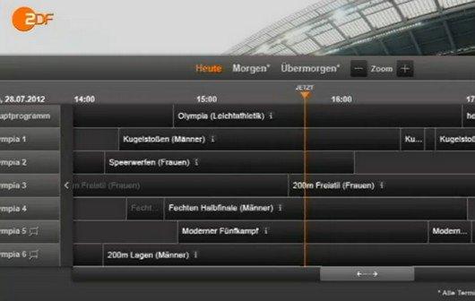 Olympia Live-Stream beim ZDF