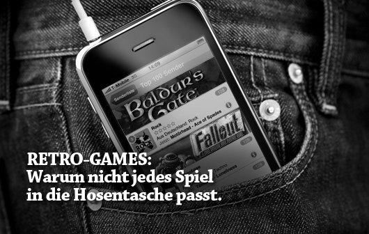 Retro Games: Warum nicht jeder Spieleklassiker in die Hosentasche passt