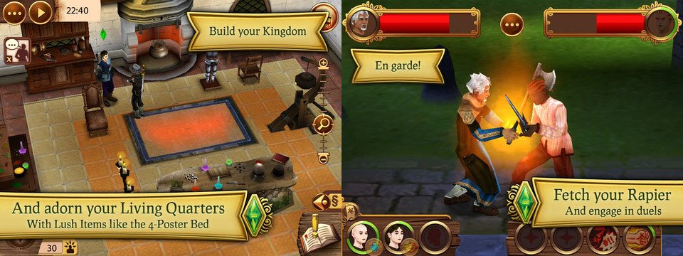 Die Sims Medieval für iPad