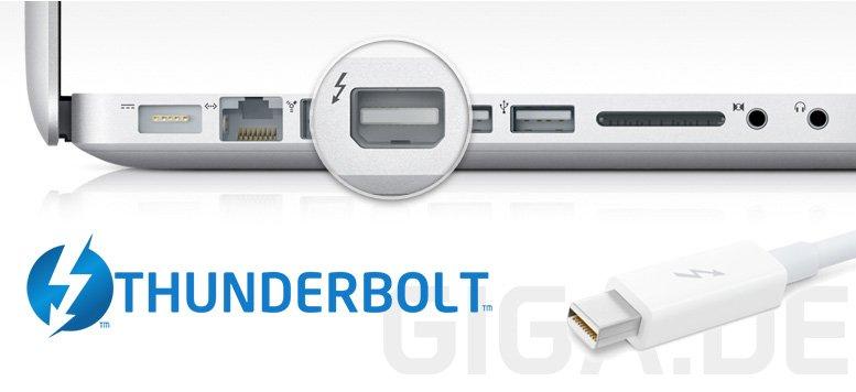 Thunderbolt: Intel angeblich Schuld an Nischendasein