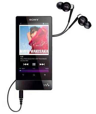 Sony kündigt den Walkman F800 mit Android 4.0 an