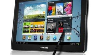 Samsung Galaxy Note 10.1 im deutschen Unboxing