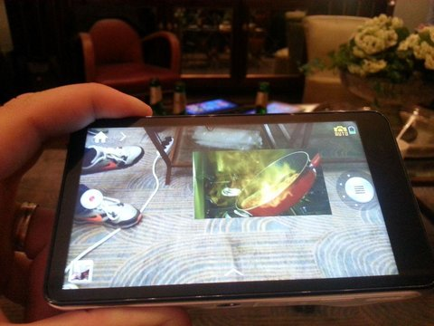 Samsung Galaxy Camera Popup Play