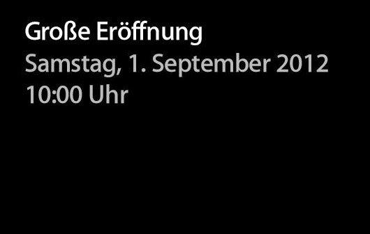 Apple Store im Rhein Center, Köln eröffnet am 1. September