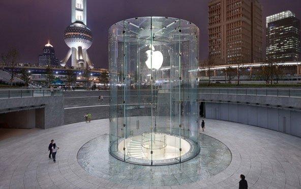 Apple Stores: 300 Millionen Besucher im laufenden Jahr
