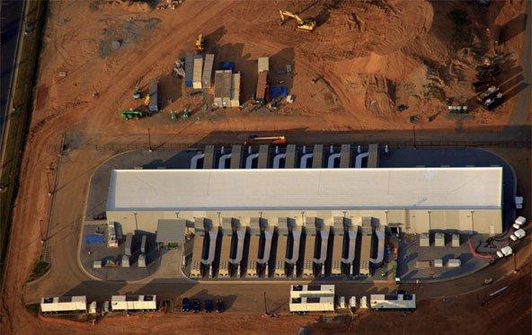 Luftaufnahmen von Apples Rechenzentrum: Unbekannte Anlage in Maiden
