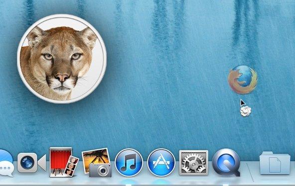Mountain Lion: Apps aus dem Dock entfernen - Tipp