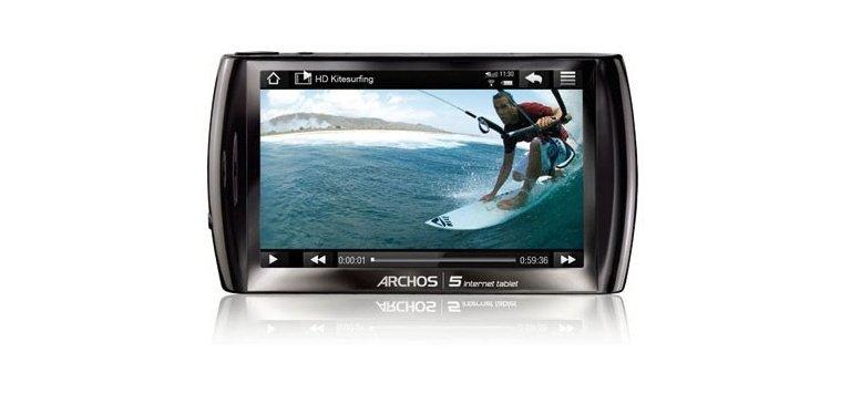 Archos 5 Internet Tablet für 55 Euro versandkostenfrei bei Ebay