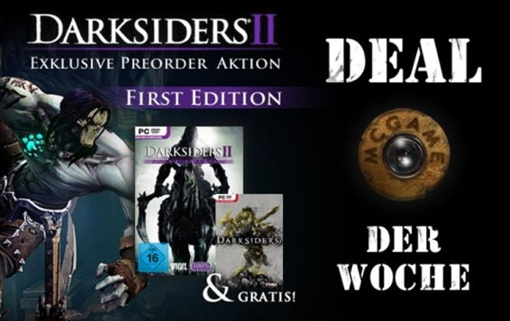 Darksiders II ist Spiel des Monats und Deal der Woche bei McGame.com