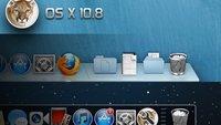 OS X 10.8 Mountain Lion: Dock anpassen - Tipp