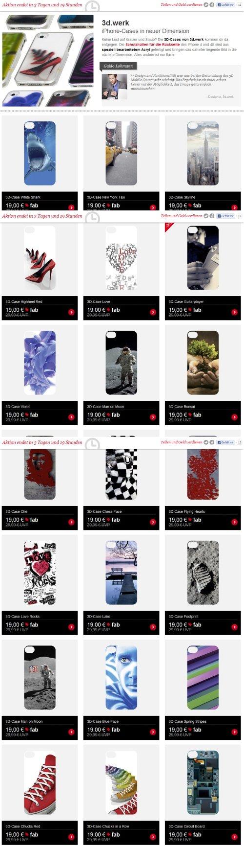Fab 3d werk iPhone-Cases