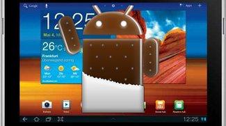 Samsung Galaxy Tab 10.1 bekommt ICS