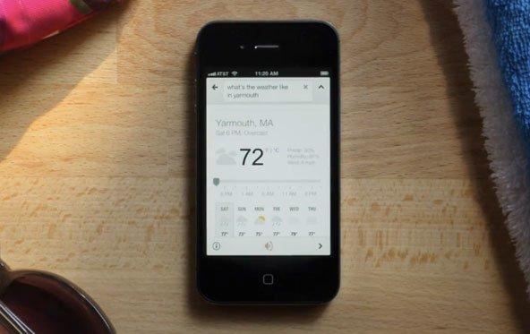 Sprachsuche für iOS: Neue Google-Suche nach langer Verspätung verfügbar