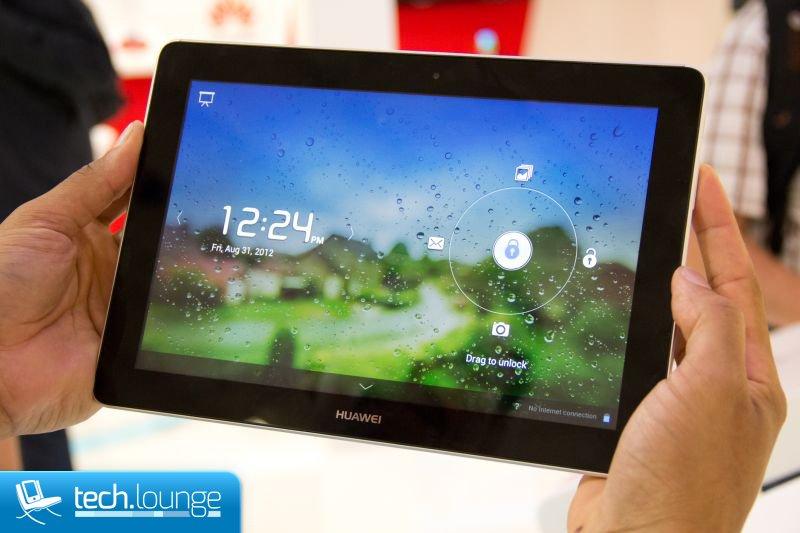 Huawei auf der IFA 2012 - Ascend D1 Quad XL und MediaPad FHD