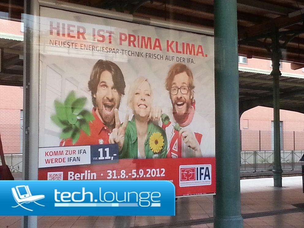 Herzlich Willkommen auf der IFA 2012