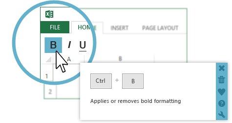 KeyRocket Excel Shortcuts