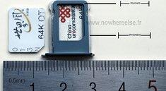Neues iPhone: Bilder der SIM-Schublade